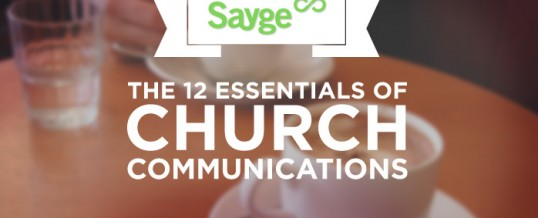 The 12 Essentials of Church Communications