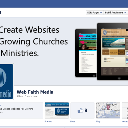 Web Faith Media Facebook Page